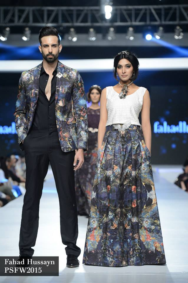 Fahad Hussayn at Sunsilk fashion week psfw 2015-2016 (5)