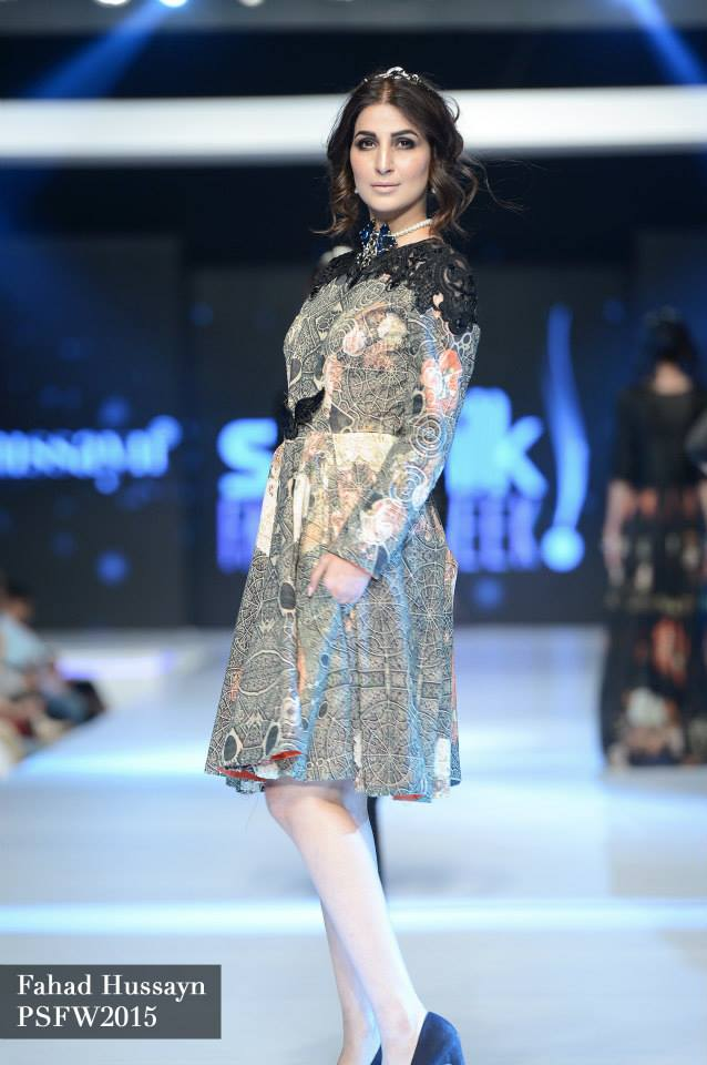 Fahad Hussayn at Sunsilk fashion week psfw 2015-2016 (6)