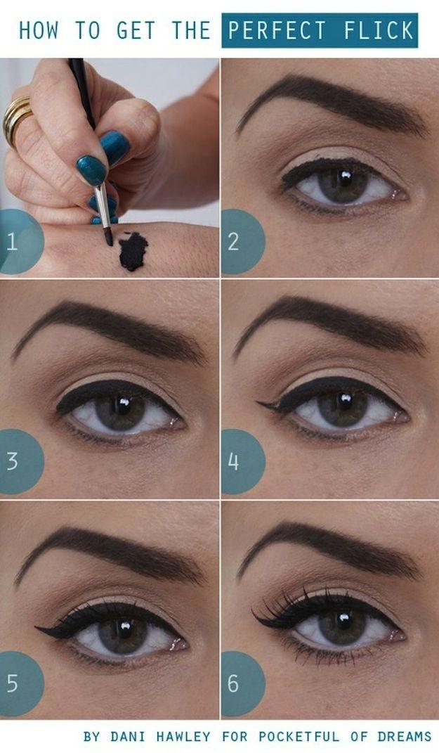 Flick Eyeliner tutorial