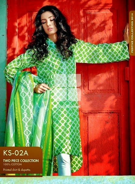 Gul Ahmed Azadi Independence Day Dresses for Women 2015-2016 (2)