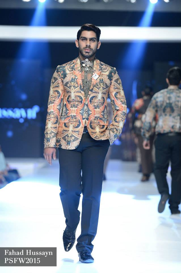 House of Arslan Iqbal Latets Collection at sunsilk fashion week 2015 (3)