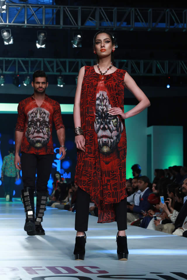 House of Arslan Iqbal Latets Collection at sunsilk fashion week 2015 (7)