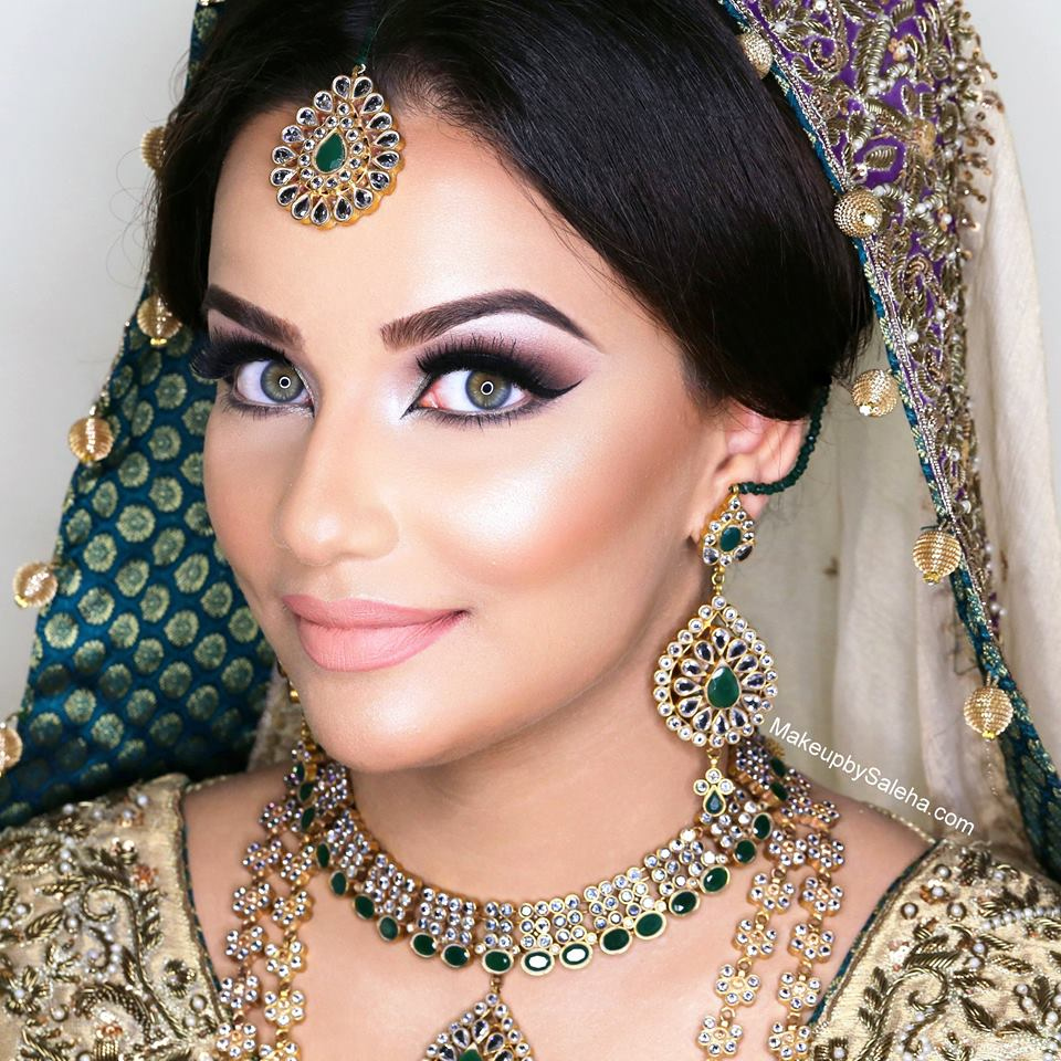 Indian Bridal Wedding Makeup Step by Step Tutorial (11)