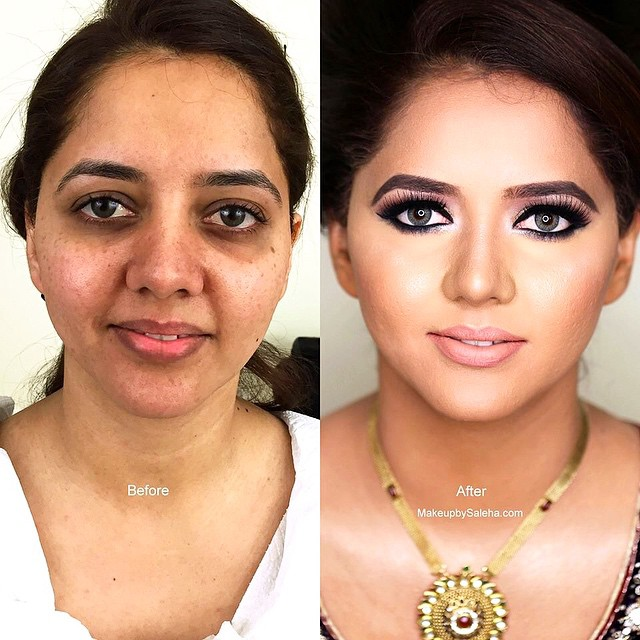 Indian Bridal Wedding Makeup Step by Step Tutorial (9)