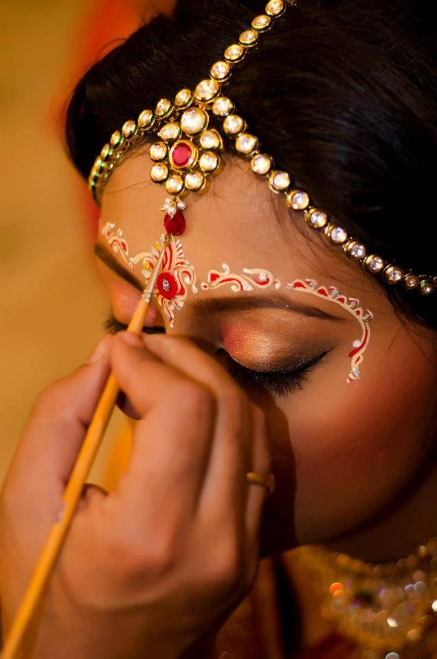 Indian Bridal Wedding makeup Looks (1)