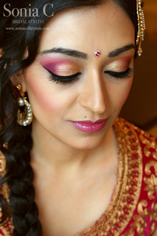 Indian Bridal Wedding makeup Looks (3)