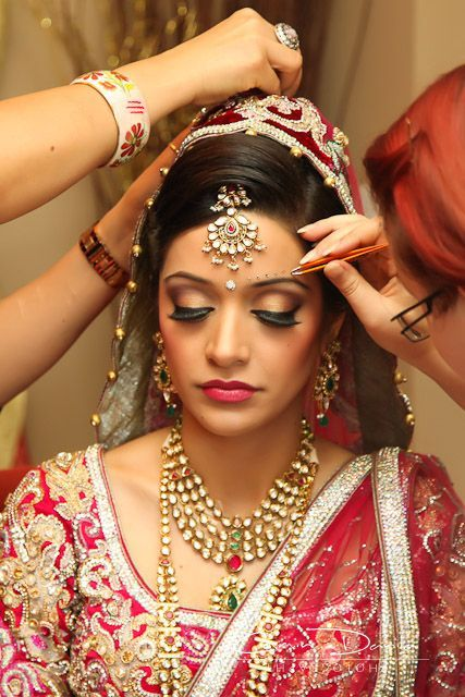 Easy Bridal Makeup Steps : Indian Bridal Wedding Makeup Step by Step Tutorial with ...