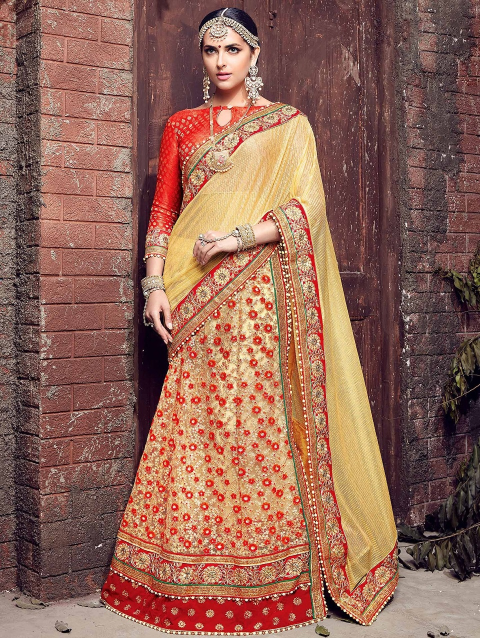 Indian Wedding Saree Designs