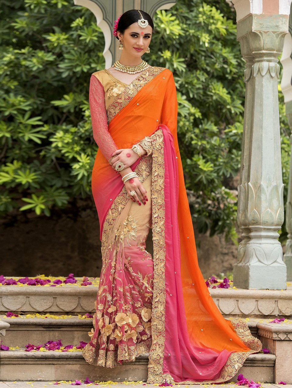 Indian Wedding Saree Latest Designs Trends Collection 2017 2018 18