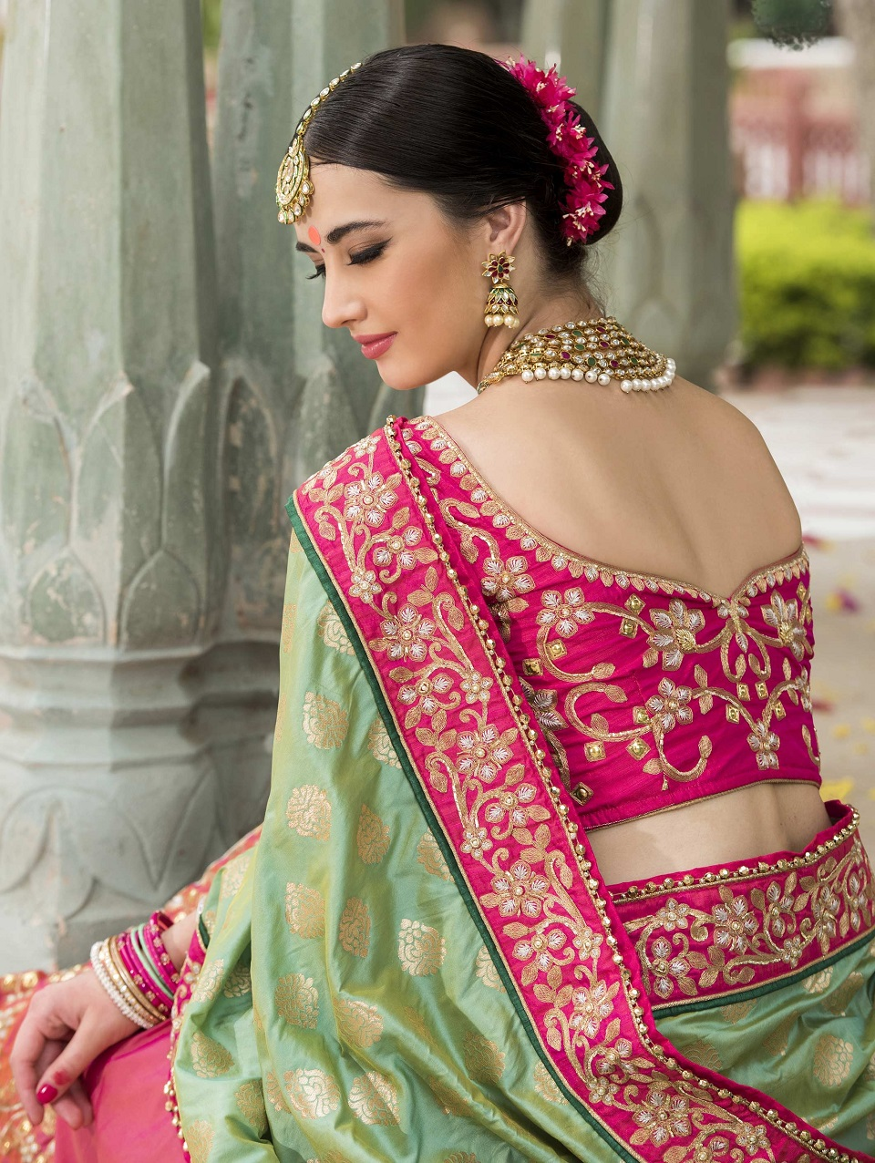 Indian Wedding Saree Latest Designs Amp Trends 2019 2029