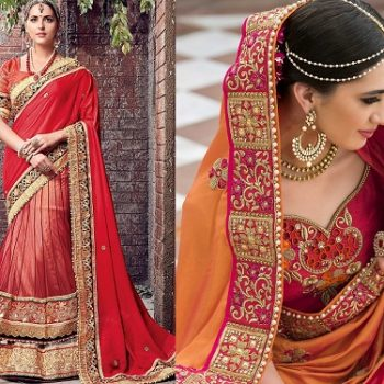 Indian Wedding Formal Saree Latest Designs & Trends 2021 Collection