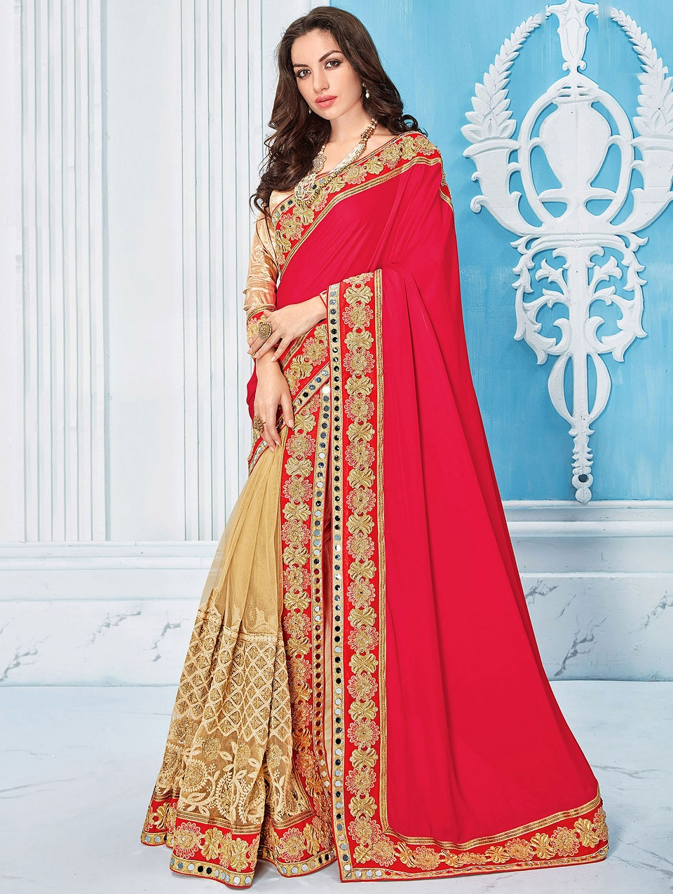 bdd0018ff4 Indian Wedding Saree Latest Designs & Trends 2019-2029 Collection