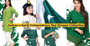 Pakistani Independence Day Dresses Designs Collection 2017-2018