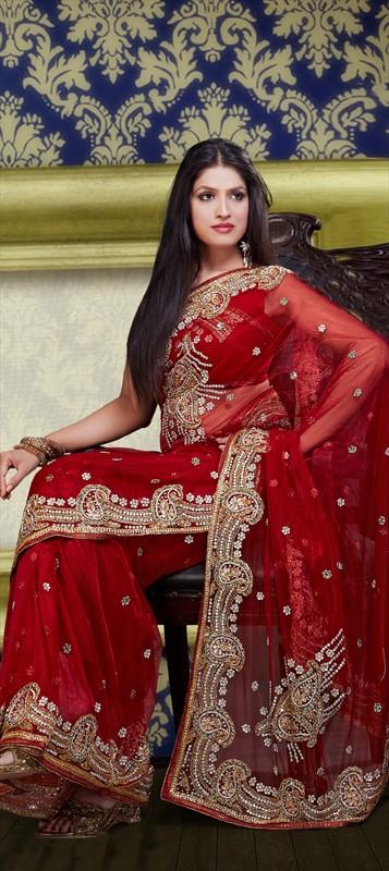 Latest Indian Bridal Wedding Saree Designs Collection 2015-2016 (1)