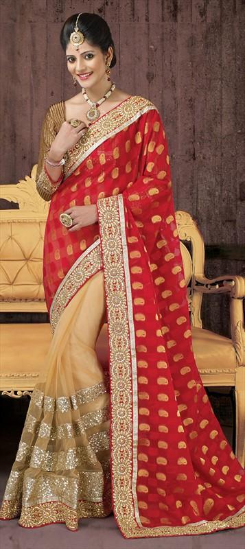 Latest Indian Bridal Wedding Saree Designs Collection 2015-2016 (10)