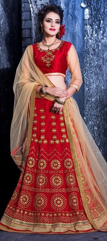 Latest Indian Bridal wedding Lehenga Choli Dresses 2015-2016 (10)