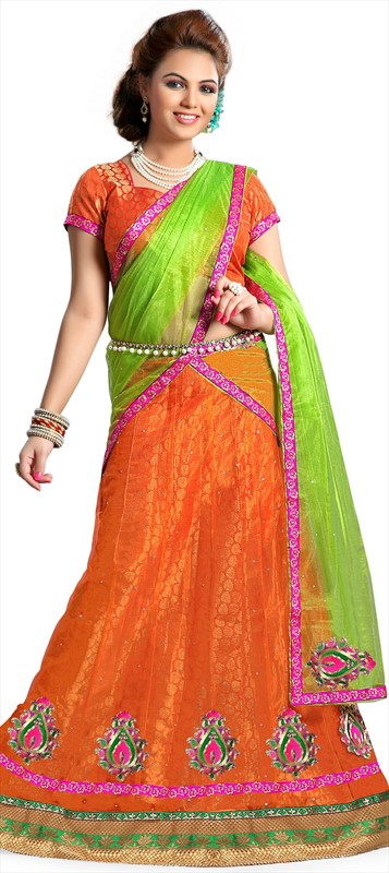 Latest Indian Bridal wedding Lehenga Choli Dresses 2015-2016 (11)