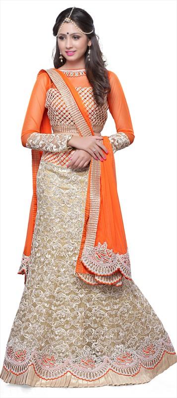 Latest Indian Bridal wedding Lehenga Choli Dresses 2015-2016 (13)
