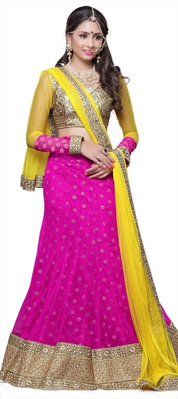 Latest Indian Bridal wedding Lehenga Choli Dresses 2015-2016 (2)