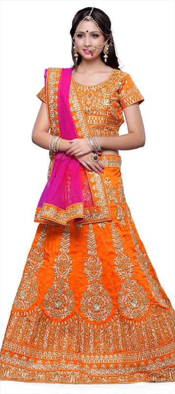 Latest Indian Bridal wedding Lehenga Choli Dresses 2015-2016 (3)