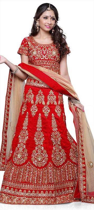 Latest Indian Bridal wedding Lehenga Choli Dresses 2015-2016 (4)