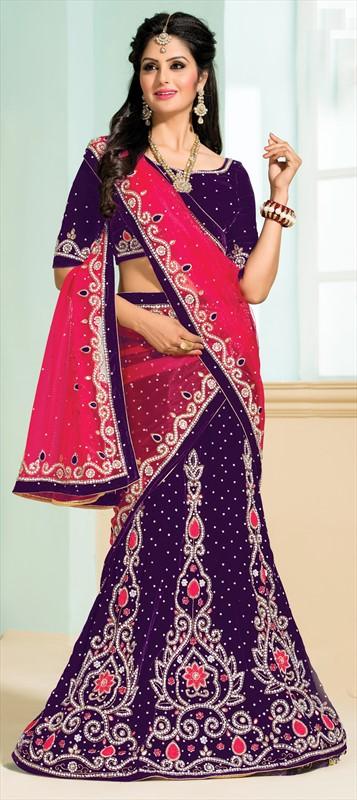 Latest Indian Bridal wedding Lehenga Choli Dresses 2015-2016 (6)