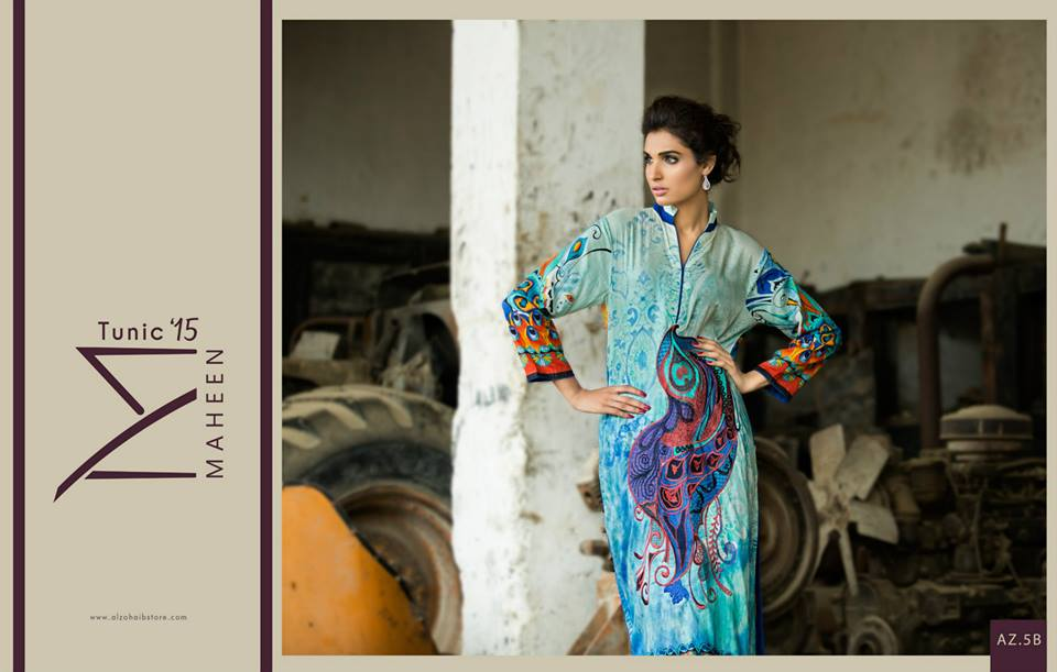 Maheen Tunics Collection 2015-2016 by Al-Zohaib Textiles (14)