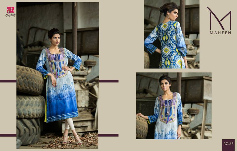 Maheen Tunics Collection 2015-2016 by Al-Zohaib Textiles (19)