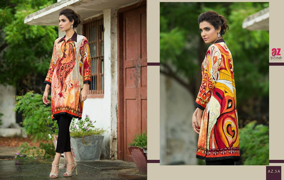 Maheen Tunics Collection 2015-2016 by Al-Zohaib Textiles (23)