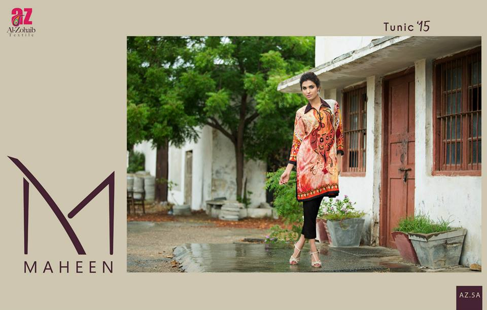 Maheen Tunics Collection 2015-2016 by Al-Zohaib Textiles (26)