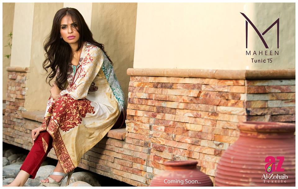 Maheen Tunics Collection 2015-2016 by Al-Zohaib Textiles (4)