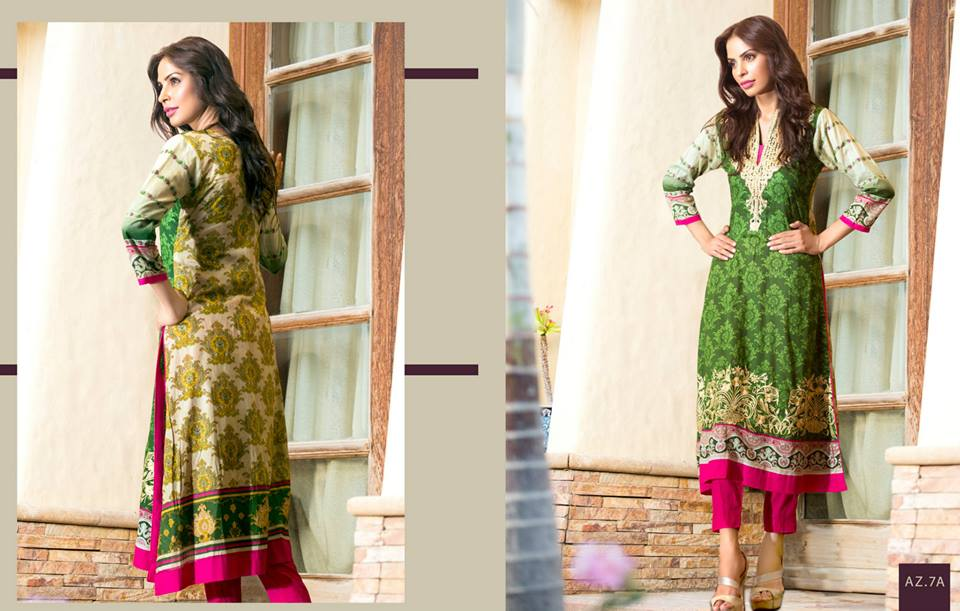 Maheen Tunics Collection 2015-2016 by Al-Zohaib Textiles (5)