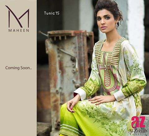 Maheen Tunics Collection 2015-2016 by Al-Zohaib Textiles (7)