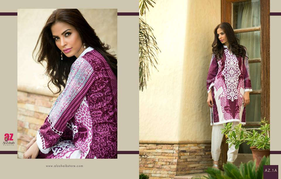 Maheen Tunics Collection 2015-2016 by Al-Zohaib Textiles (8)