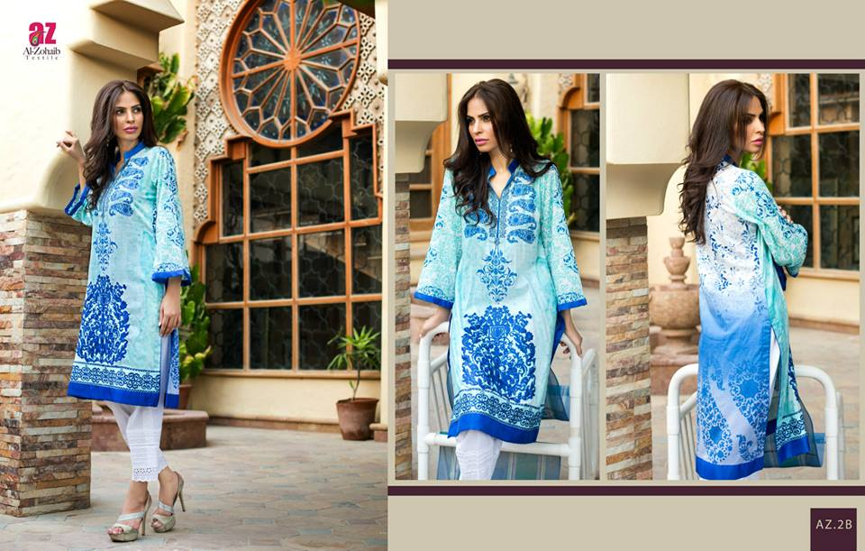 Maheen Tunics Collection 2015-2016 by Al-Zohaib Textiles (9)