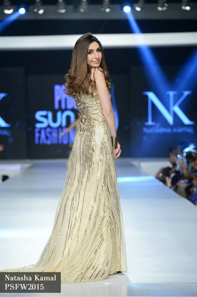 Natasha Kamal Latest Collection at Sunsilk Fashion week 2015 (1)