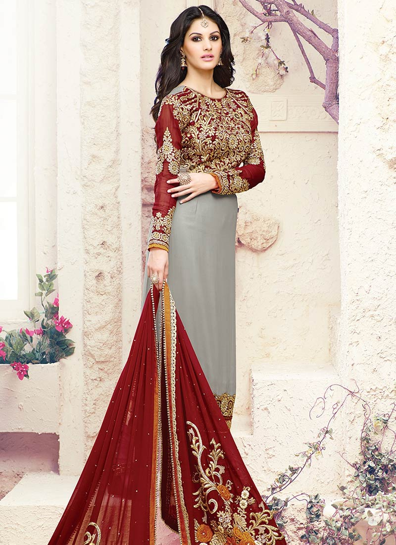 Party Wear Salwar Kameez Collection 2015-2016 (12)