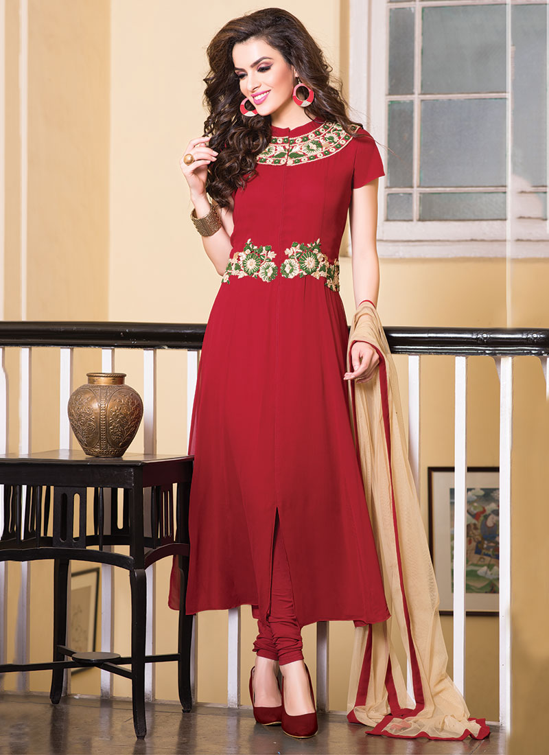 Party Wear Salwar Kameez Collection 2015-2016 (14)