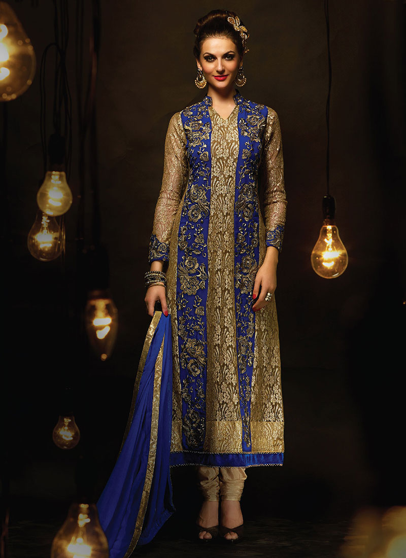 Latest Pakistani Indian Party Wear Salwar Kameez ...