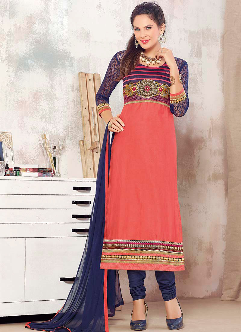 Latest Pakistani Indian Party Wear Salwar Kameez