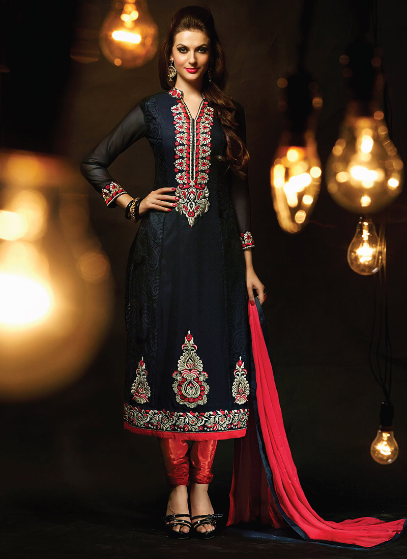 Party Wear Salwar Kameez Collection 2015-2016 (29)