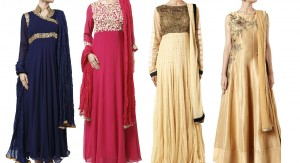 Latest Pakistani Indian Party Wear Salwar Kameez Collection 2017-2018