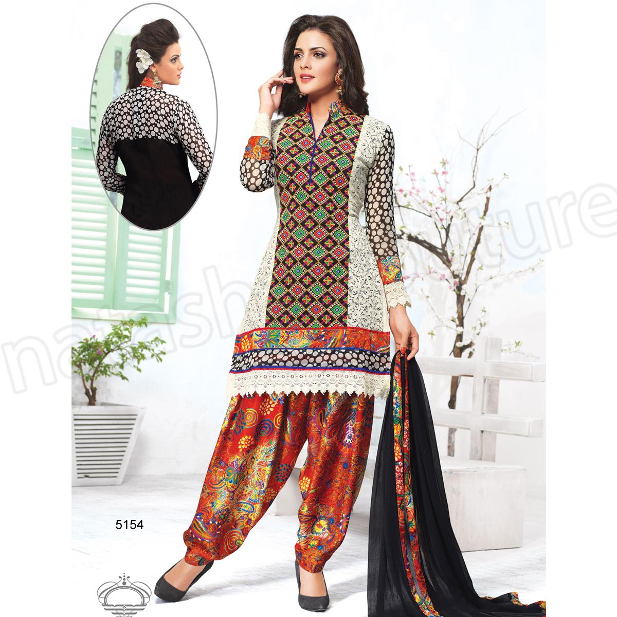 Punjabi Suits Latest Indian patiala Shalwar Kameez Collection 2015-2016 (15)