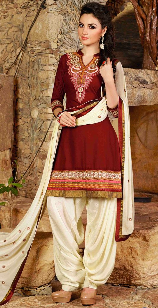 Punjabi Suits Latest Indian patiala Shalwar Kameez Collection 2015-2016 (2)