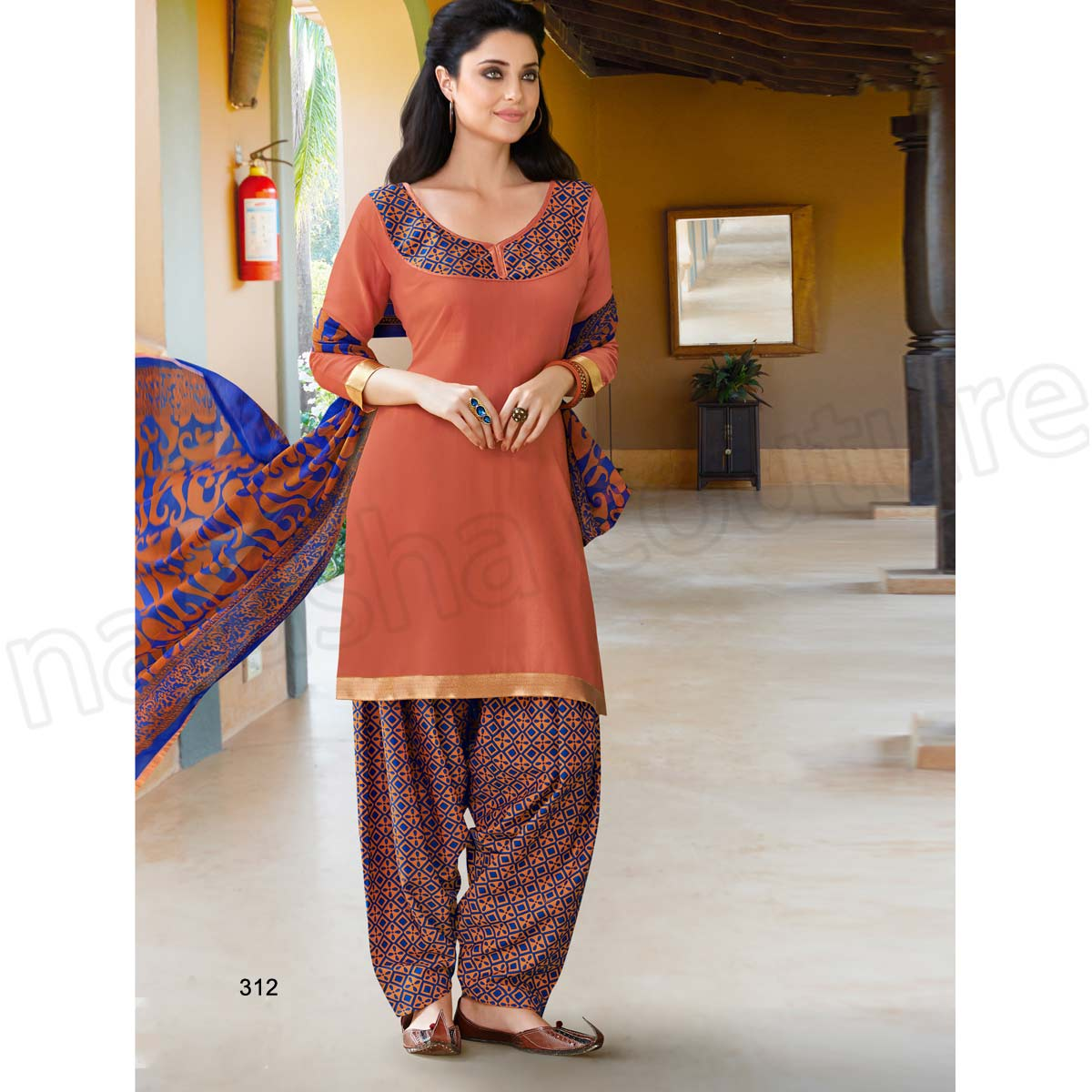 Punjabi Suits Latest Indian patiala Shalwar Kameez Collection 2015-2016 (22)
