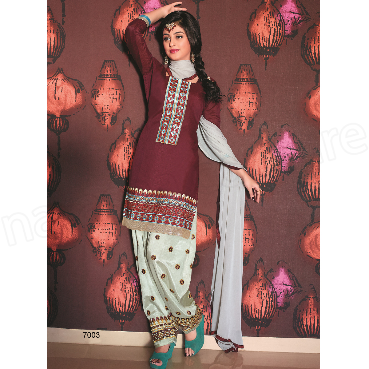 Punjabi Suits Latest Indian patiala Shalwar Kameez Collection 2015-2016 (23)