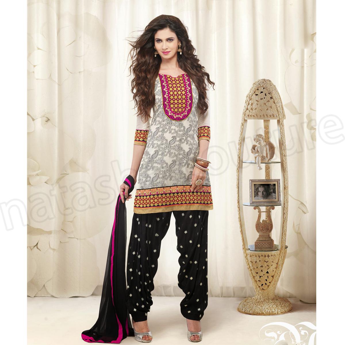 Punjabi Suits Latest Indian patiala Shalwar Kameez Collection 2015-2016 (24)