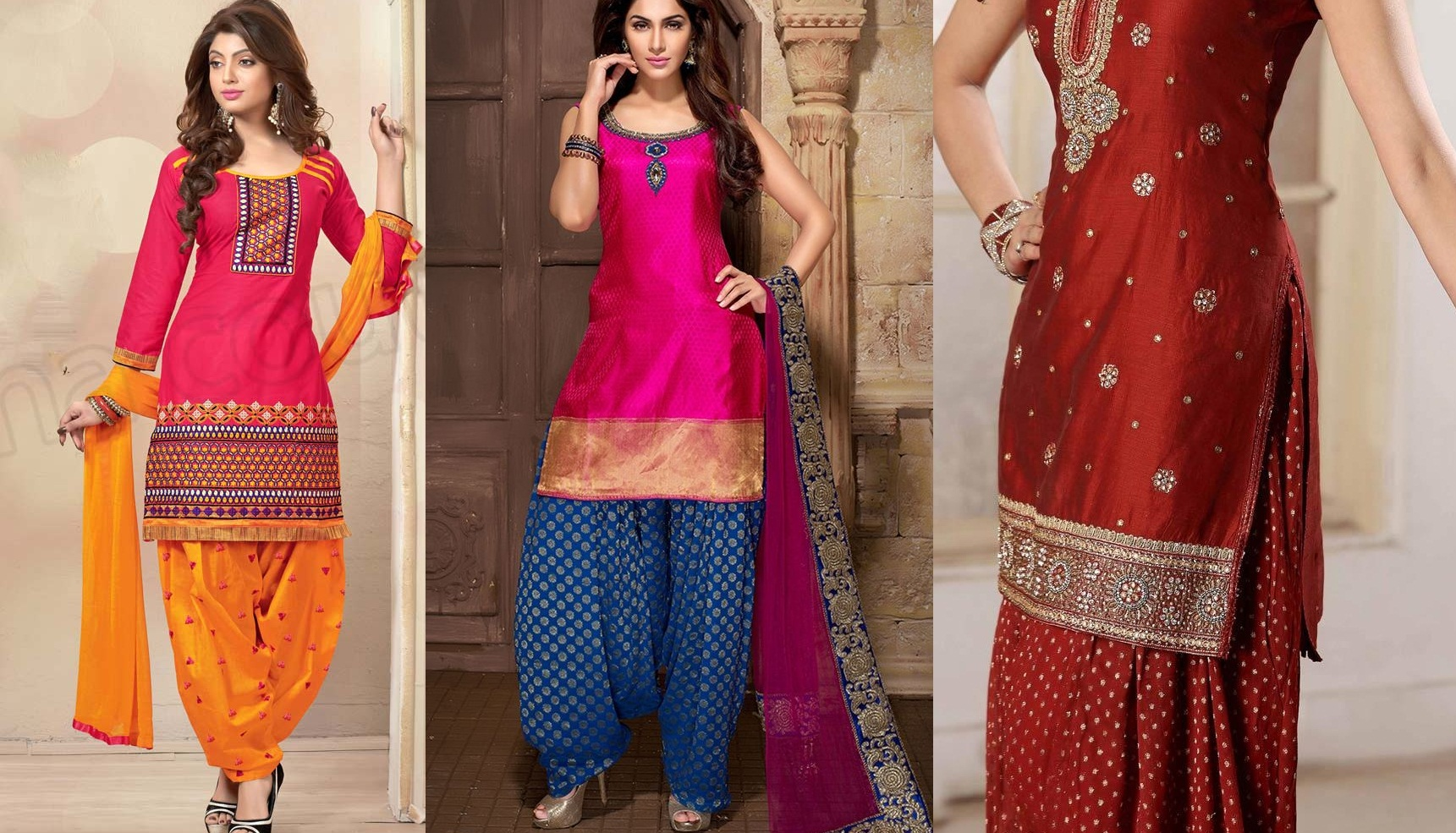 Punjabi Suits Latest Indian patiala Shalwar Kameez Collection 2015-2016 (32)