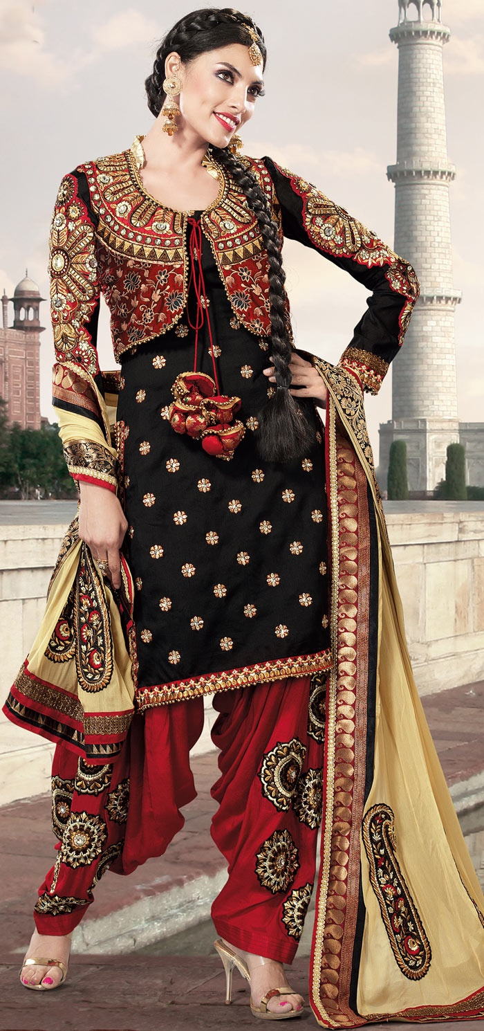 Punjabi Suits Latest Indian patiala Shalwar Kameez Collection 2015-2016 (4)