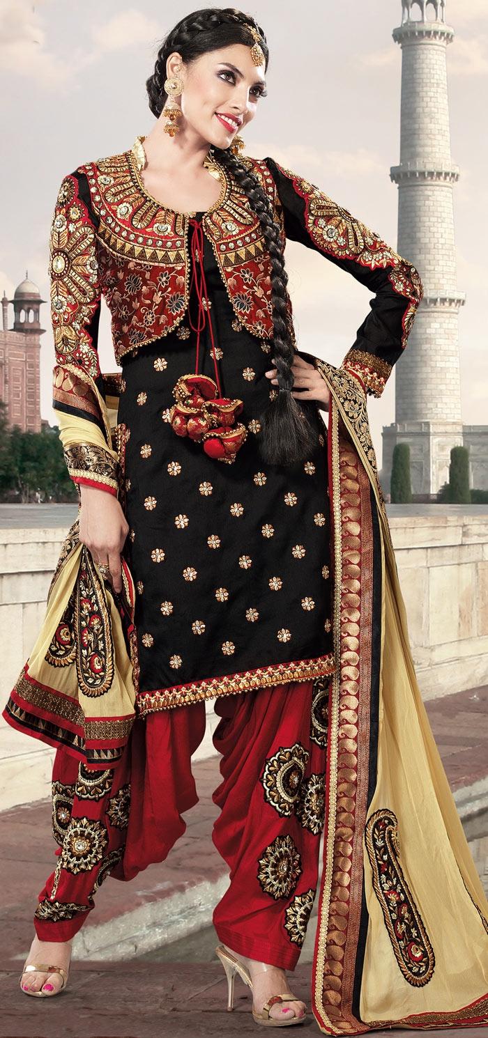 Punjabi Suits Latest Indian Patiala Salwar Kameez